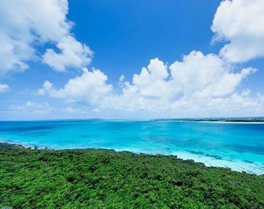 穏やかで美しい海の夢