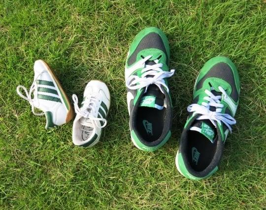 小さ過ぎる靴の夢