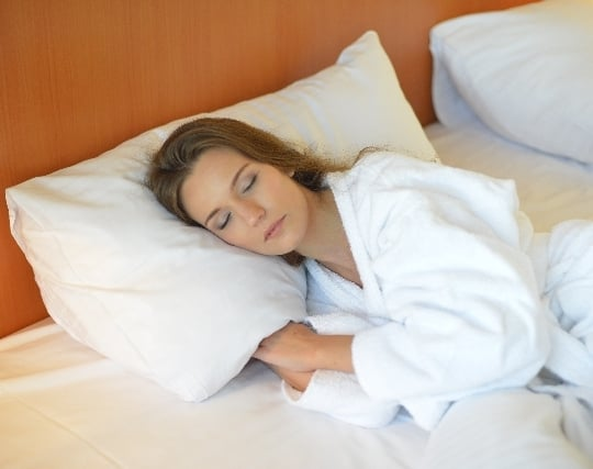 快眠している夢