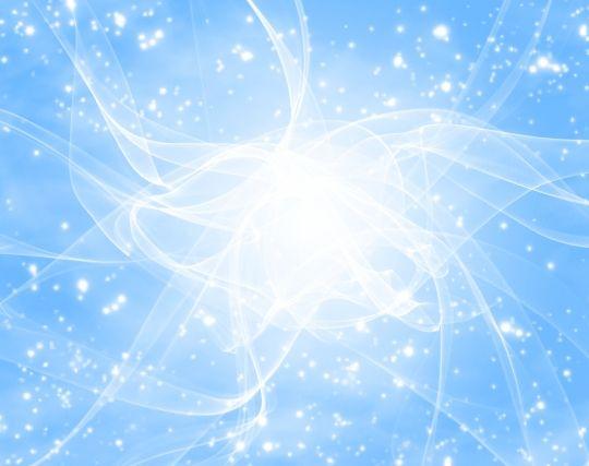 明るい空に輝く星が見える夢