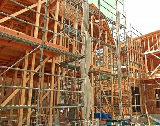 木材を組み立てる夢