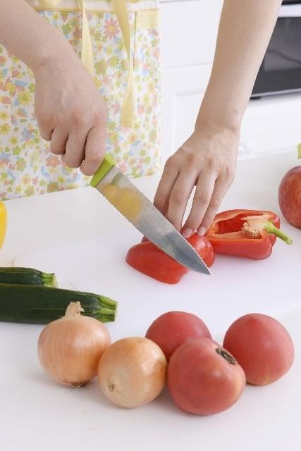 野菜を<strong>切る</strong>夢
