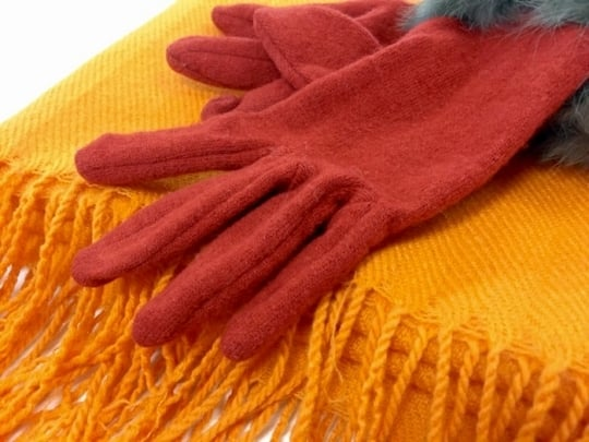 暖かい手袋とマフラーの夢