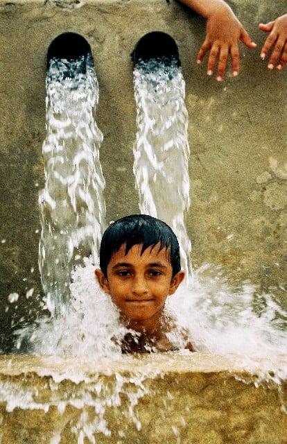 心地よい水浴びの夢