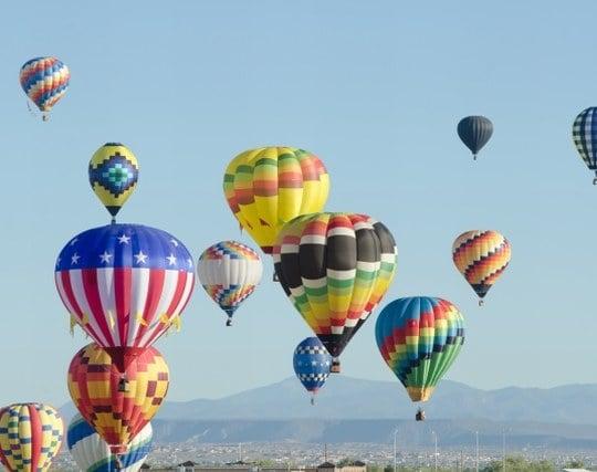 気球に乗り込む夢