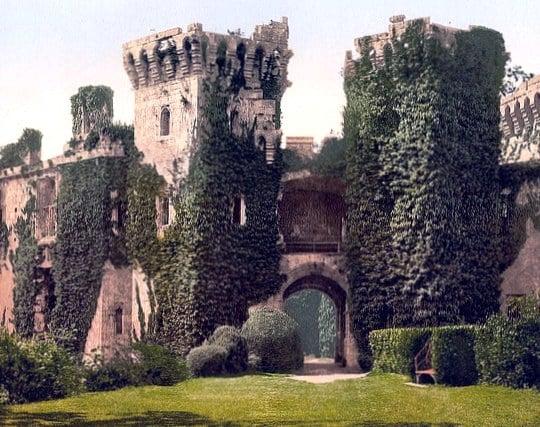 蔦に覆われた城の夢