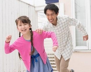 自分の娘を追う夢