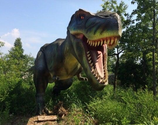 恐竜が来襲する夢