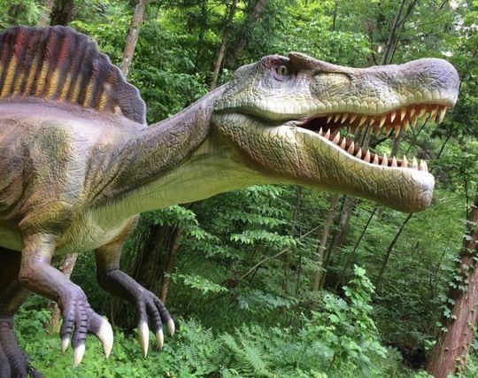 恐竜に食べられる夢