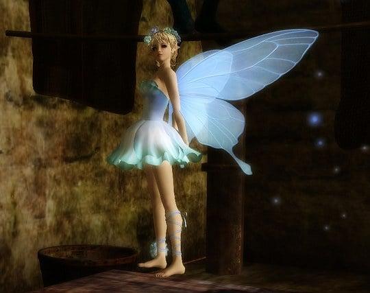 可愛い妖精が現れる夢