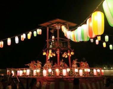 盆踊り大会に参加する夢