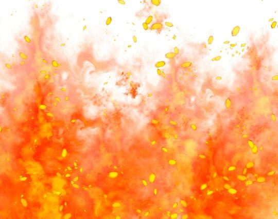 勢いよく燃える火事の夢