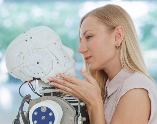 ロボットにキスする夢