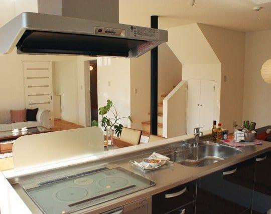 整理整頓された清潔なキッチンの夢