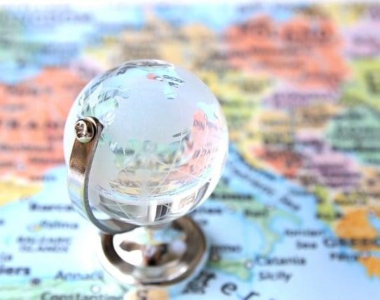 地図がぼやけている夢