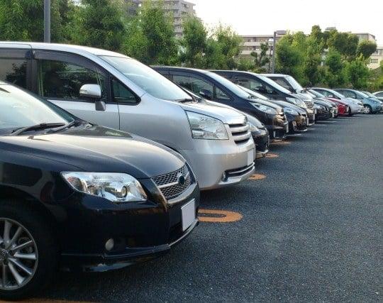 駐車場を探す夢