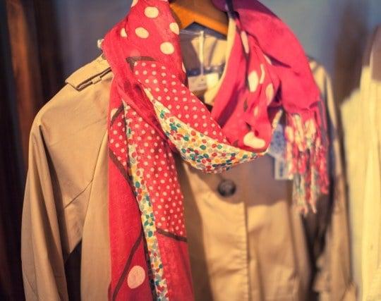 綺麗なスカーフの夢