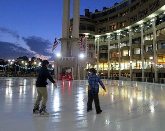 スケートで気持ちよく滑る夢