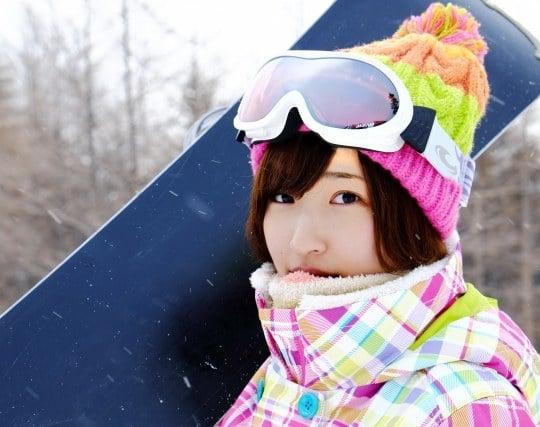 スノーボードを練習して上達する夢