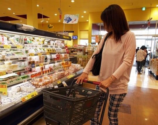 スーパーで買い物を楽しむ夢