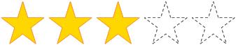 星 3 個