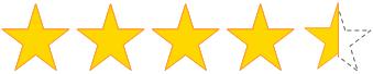 星 4.5 個