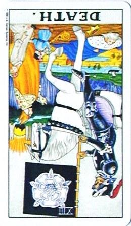 銀貨のカード:死神 - Deathの逆位置