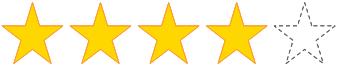 星 4 個
